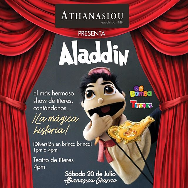 Photo of 'Aladdin' en Bamba Títeres