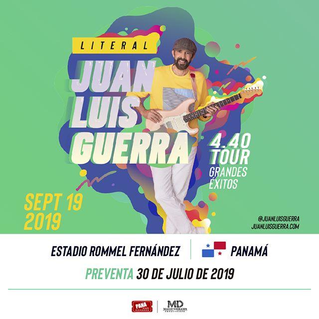 Photo of Pre-venta exclusiva para el concierto de Juan Luis Guerra en Panamá el 19 de septiembre
