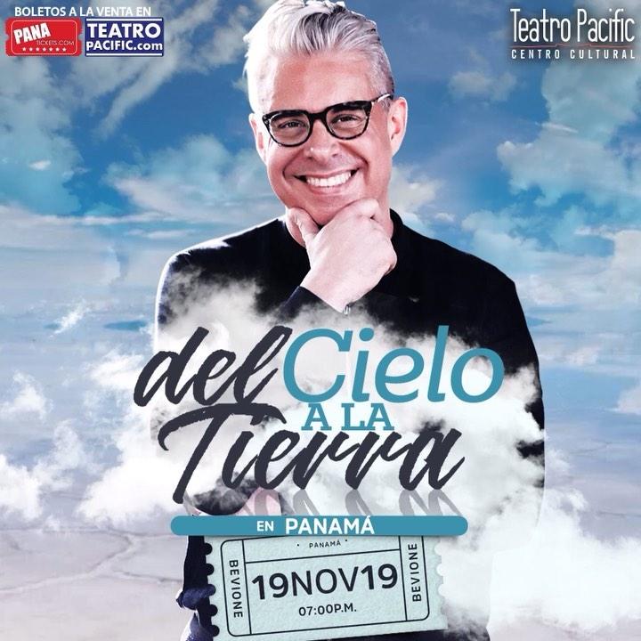 Photo of Julio Bevione llega a Panamá el 19 de Noviembre con su conferencia «Del Cielo a La Tierra»