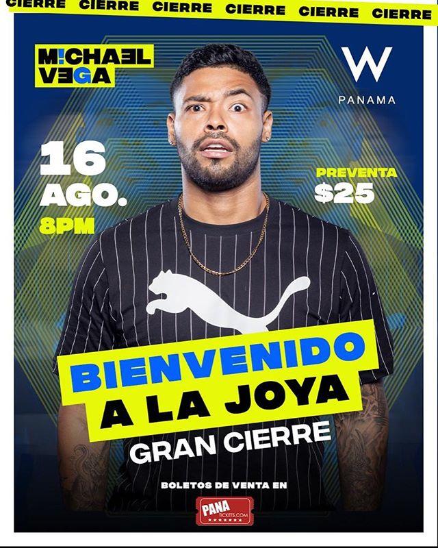 Photo of Cierre del show «Bienvenido a la Joya con Michael Vega»