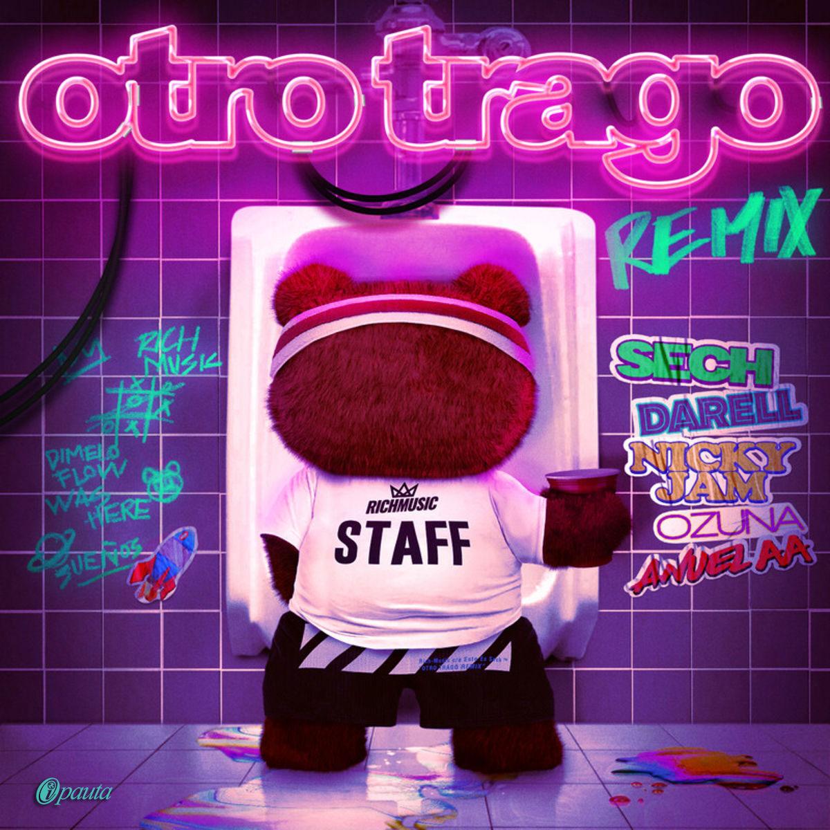 Photo of Sech estrena 'Otro Trago Remix' junto a  Ozuna, Nicky Jam y Anuel AA