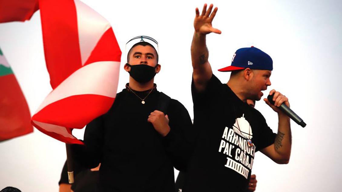 Photo of Residente, iLe & Bad Bunny estrena tema 'Afilando los Cuchillos' con motivo a las protestas en Puerto Rico