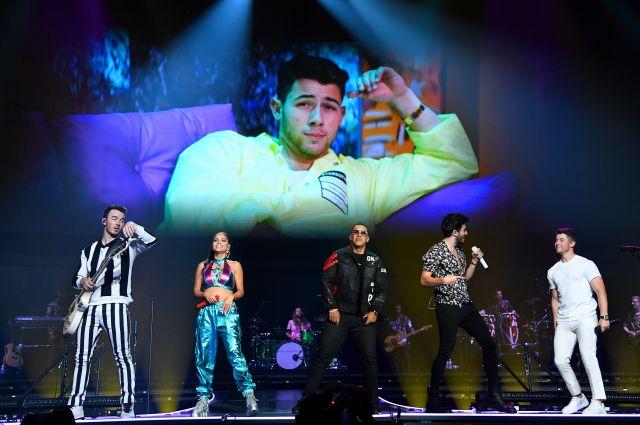 Photo of Daddy Yankee, Sebastián Yatra y Natti Natasha los invitados al concierto de los Jonas Brother en Miami