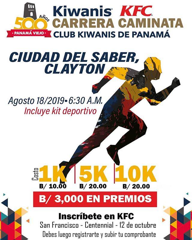 Photo of Carrera Kfc Kiwanis 35 Aniversario (500 Años De Panamá)