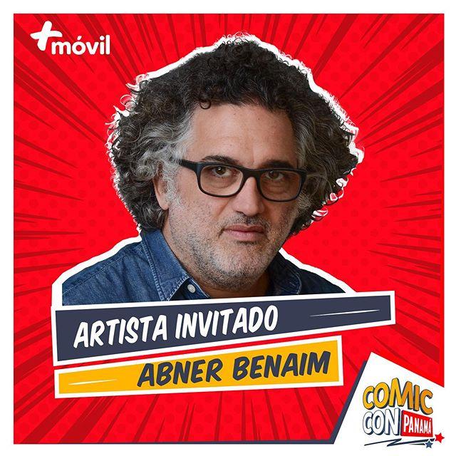 Photo of El Guionista panameño Abner Benaim estará como invitado especial en el Comic Con Panamá