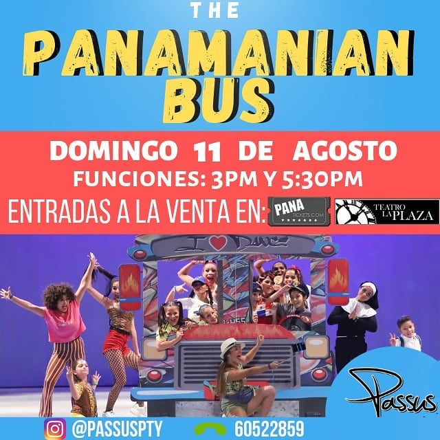 Photo of Bailarines presentan «The Panamanian Bus» en Teatro la Plaza