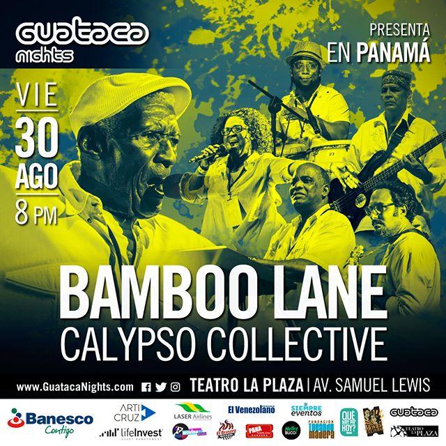 Photo of Guataca Nights presenta en Panamá 'Bamboo Lane Calypso Collective'