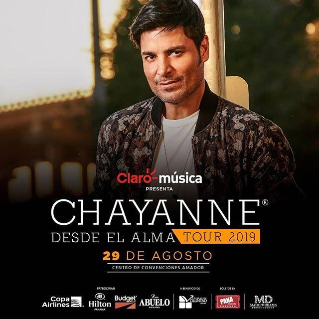 Photo of Chayanne ya se encuentra en Panamá, para brindar concierto en el Centro de Convenciones Amador