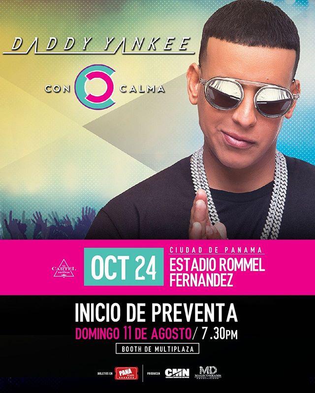 Photo of Confirmado Daddy Yankee estará en concierto en Panamá el próximo 24 de octubre