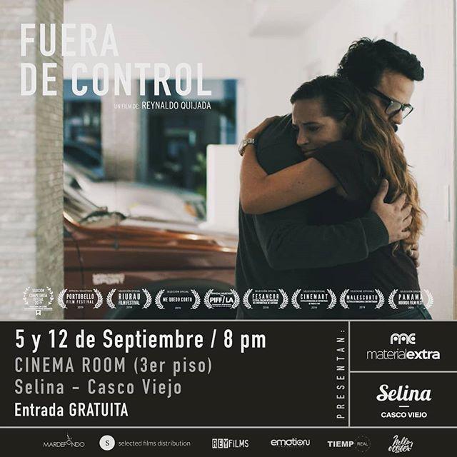 Photo of El film 'Fuera de Control' tendrá una presentación especial completamente gratis