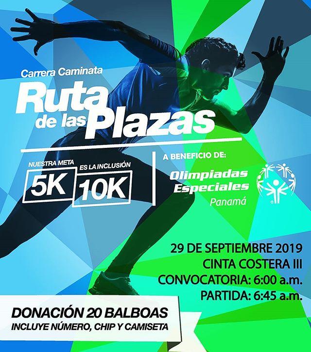 Photo of Carrera Caminata 'Ruta de las Plazas' este 29 de septiembre
