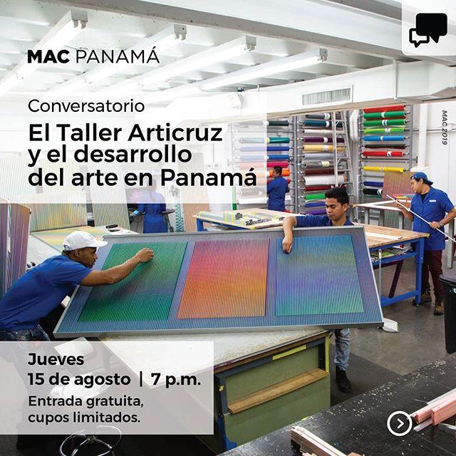 Photo of Mac Panamá presentan «El Taller Articruz y  el desarrollo del arte en Panamá»