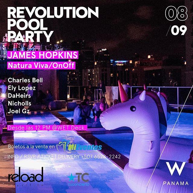 """Photo of Tuconcierto.net te invita al """"Revolution Pool Party"""" en W Hotel Panamá"""