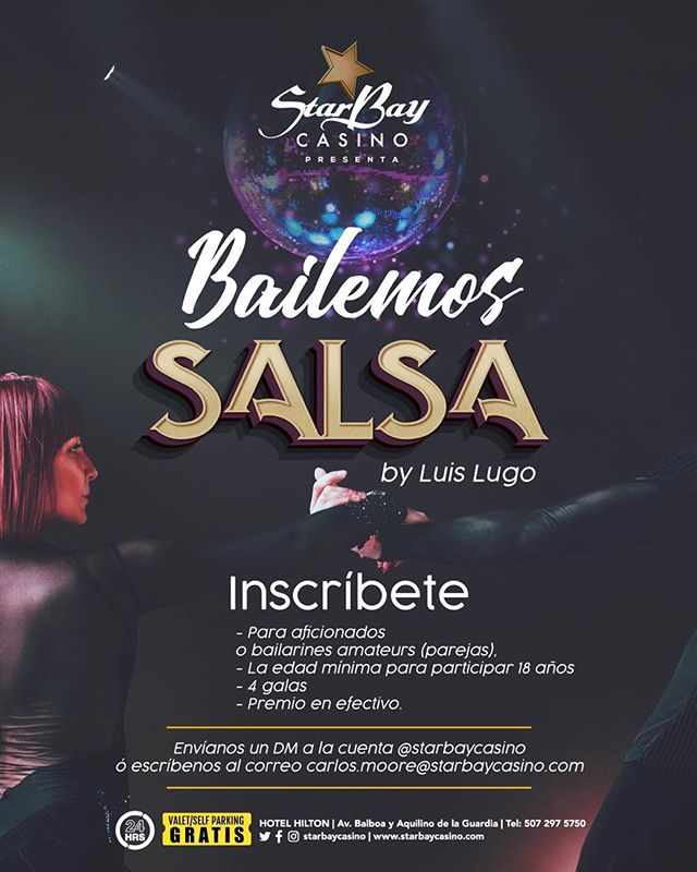 """Photo of Starbay Casino presenta """"Bailemos Salsa by Luis Lugo"""""""