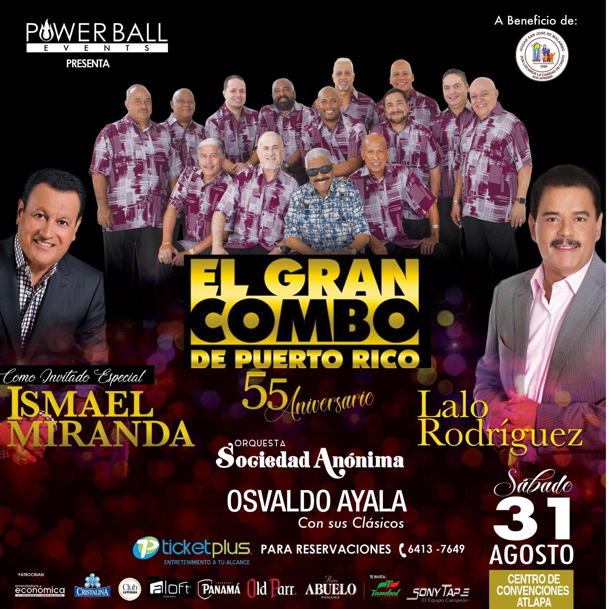 Photo of El Gran Combo de Puerto Rico celebrará sus 55 aniversario en la ciudad de Panamá