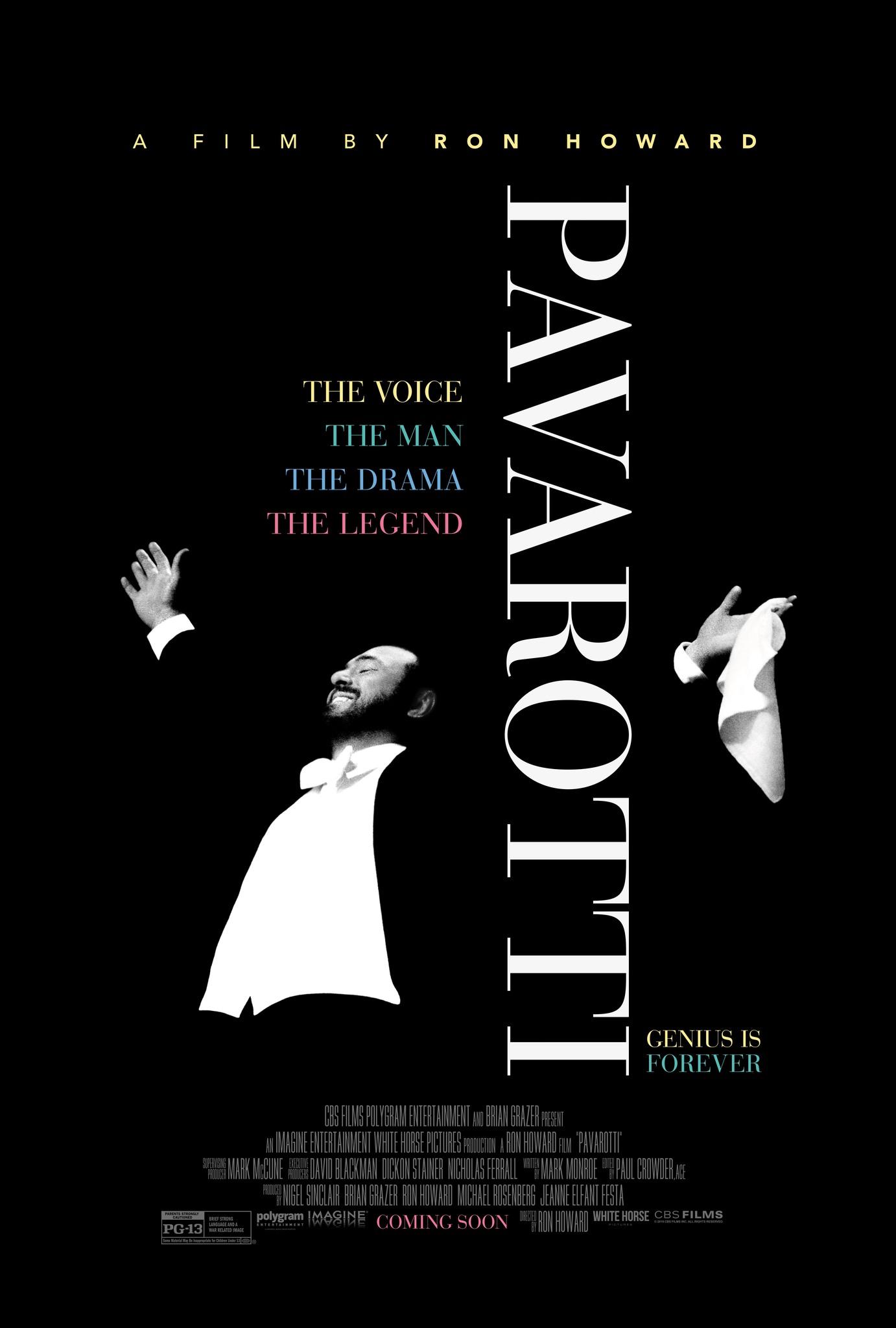 Photo of Pre venta para el film 'Pavarotti'
