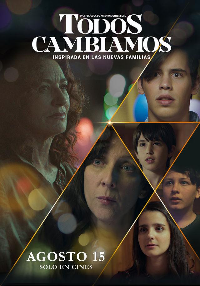 Photo of Estreno en los cines de Panamá «Todos Cambiamos» del director panameño Arturo Montenegro