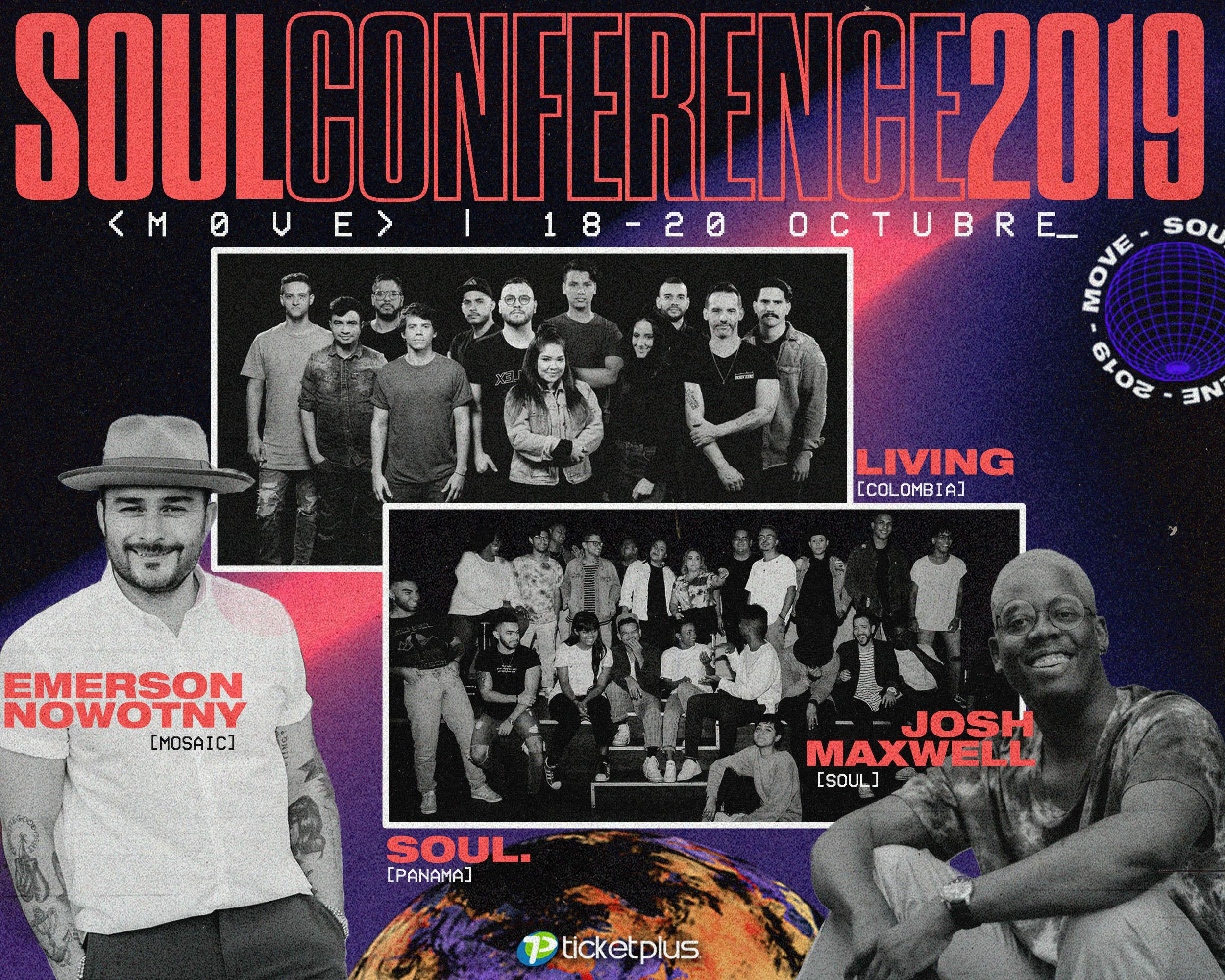 Photo of Soul Conference MOVE 2019 en Ciudad del Saber del 18 al 20 de octubre