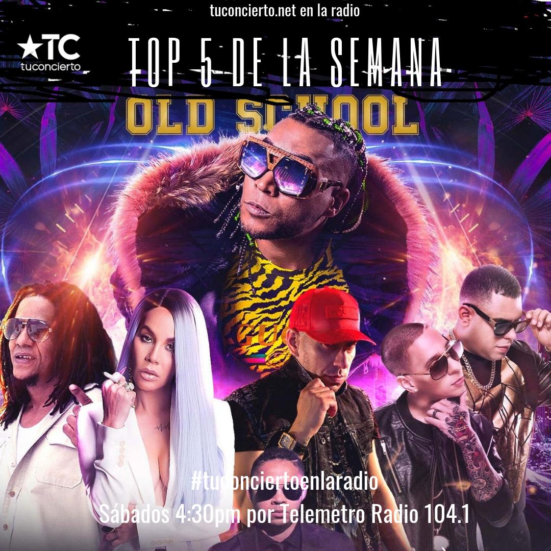 Photo of Los artistas del Concierto de «El Choli se Muda a Panamá» en el #Top5 de Tuconcierto en la radio