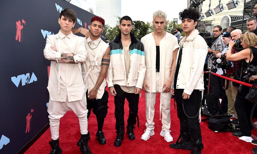 Photo of CNCO puso el toque latino en los MTV Video Music Awards 2019