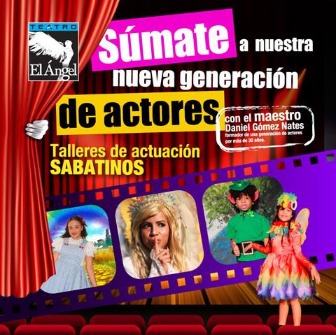 Photo of Llego el mes de agosto y con el los Talleres de actuación en Teatro el Ángel
