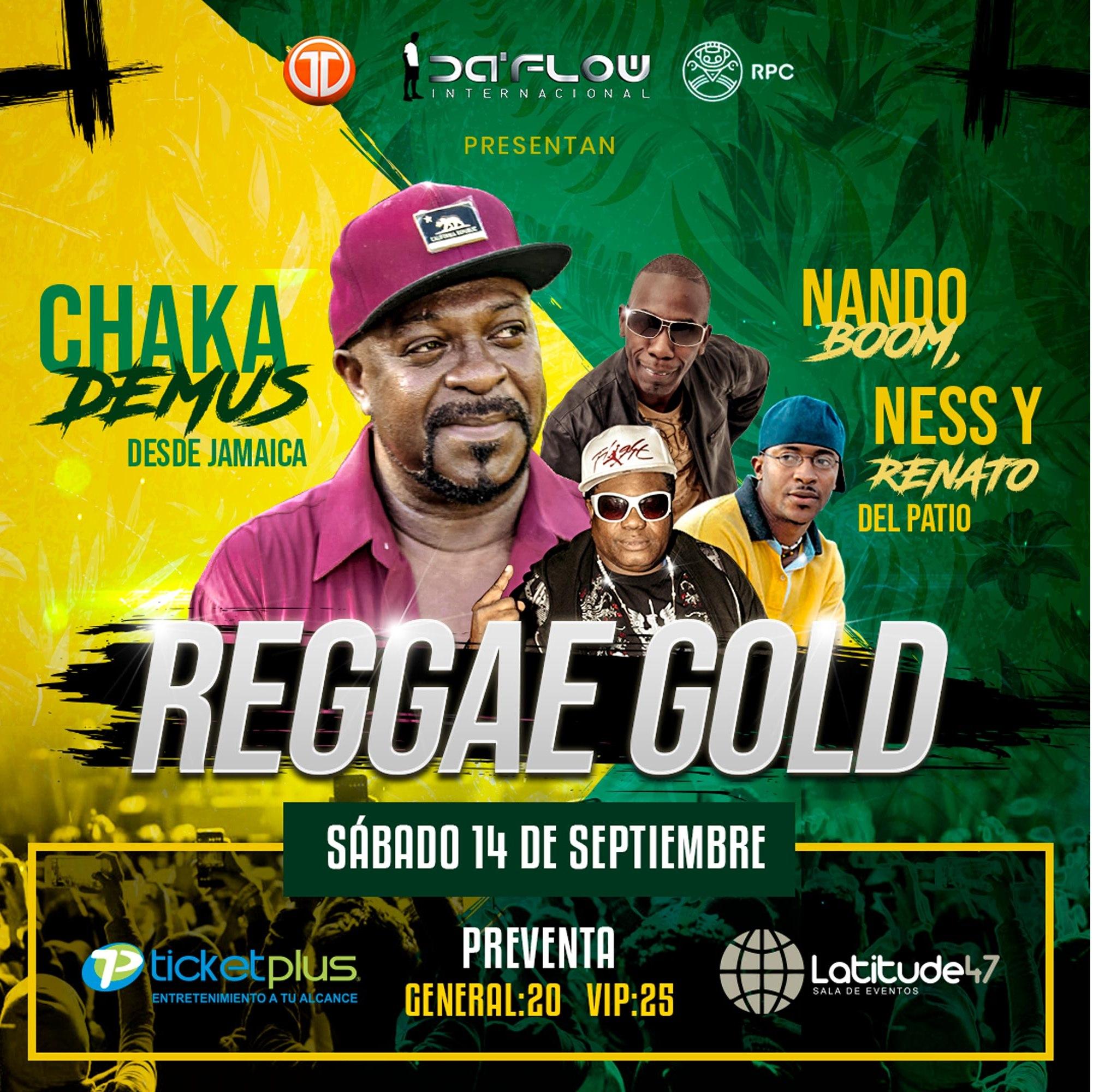Photo of Panamá presenta «Reggae Gold» este 14 de septiembre