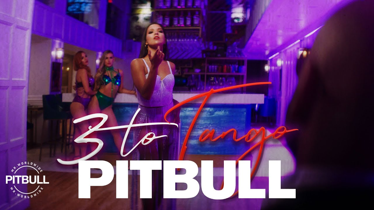"Photo of Pitbull estrena ""3 to Tango"" junto a un vídeo protagonizado por John Travolta"