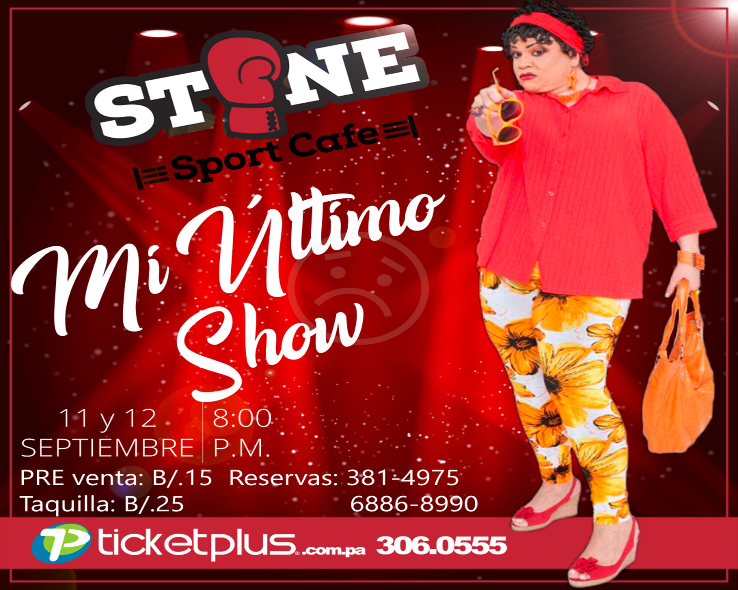 Photo of La One Two presenta «Mi Último Show» en Stone Sport Cafe by Roberto Durán