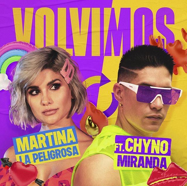 Photo of Chyno Miranda estrena junto a Martina el tema 'Volvimos'