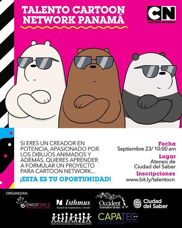 Photo of Llega a Panamá 'Talento Cartoon Network' la oportunidad para los creadores de dibujos animados