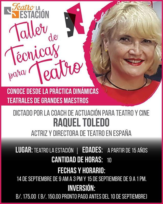 Photo of Taller de técnicas para teatro con Raquel Toledo
