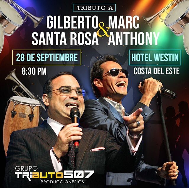 Photo of Grupo Tributo 507 producciones presenta 'Tributo a Gilberto Santa Rosa y Marc Anthony'