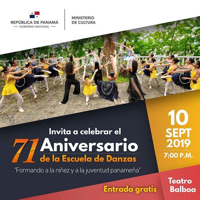 Photo of La escuela de Danzas de Panamá te invita a celebrar su 71 aniversario