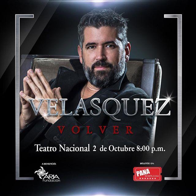 Photo of Ricardo Velazquez regresa en una presentación renovada en el Teatro Nacional