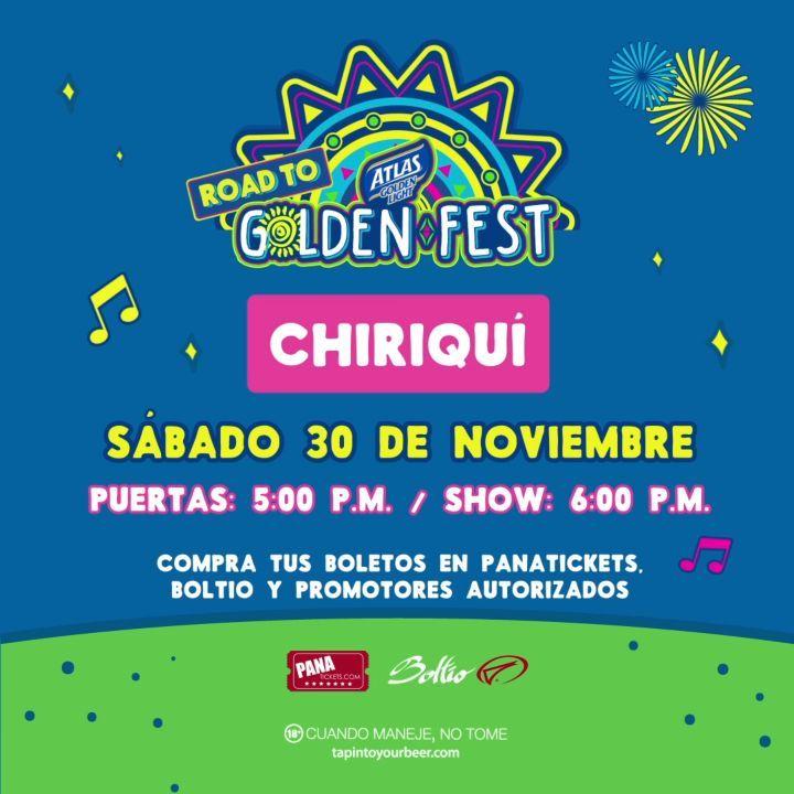 Photo of Se viene el Road To Golden Fest Chiriquí