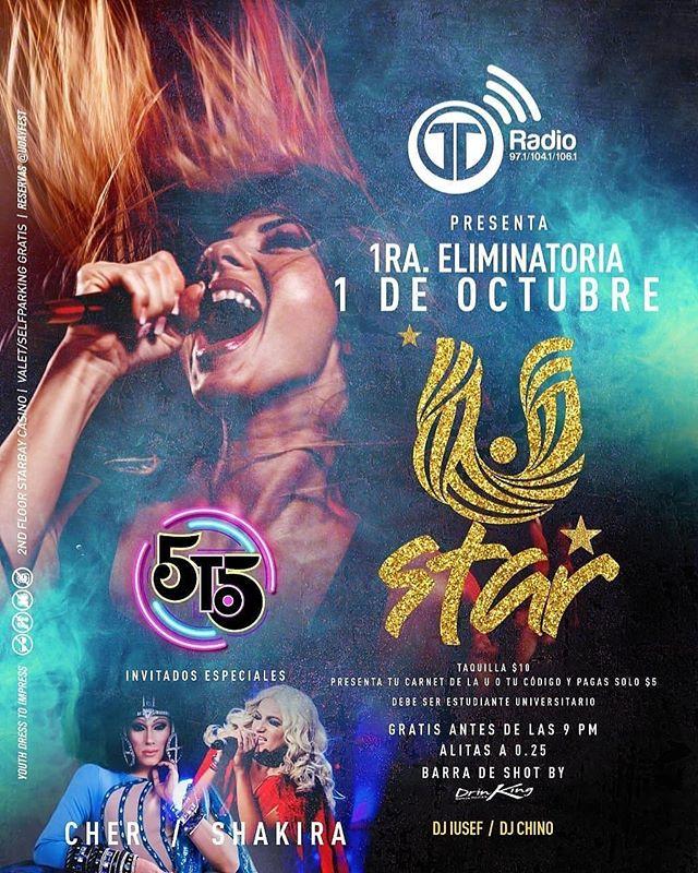 Photo of Telemetro Radio presenta la 1era. Eliminatoria de 'U Day Star' en la disco 5to5