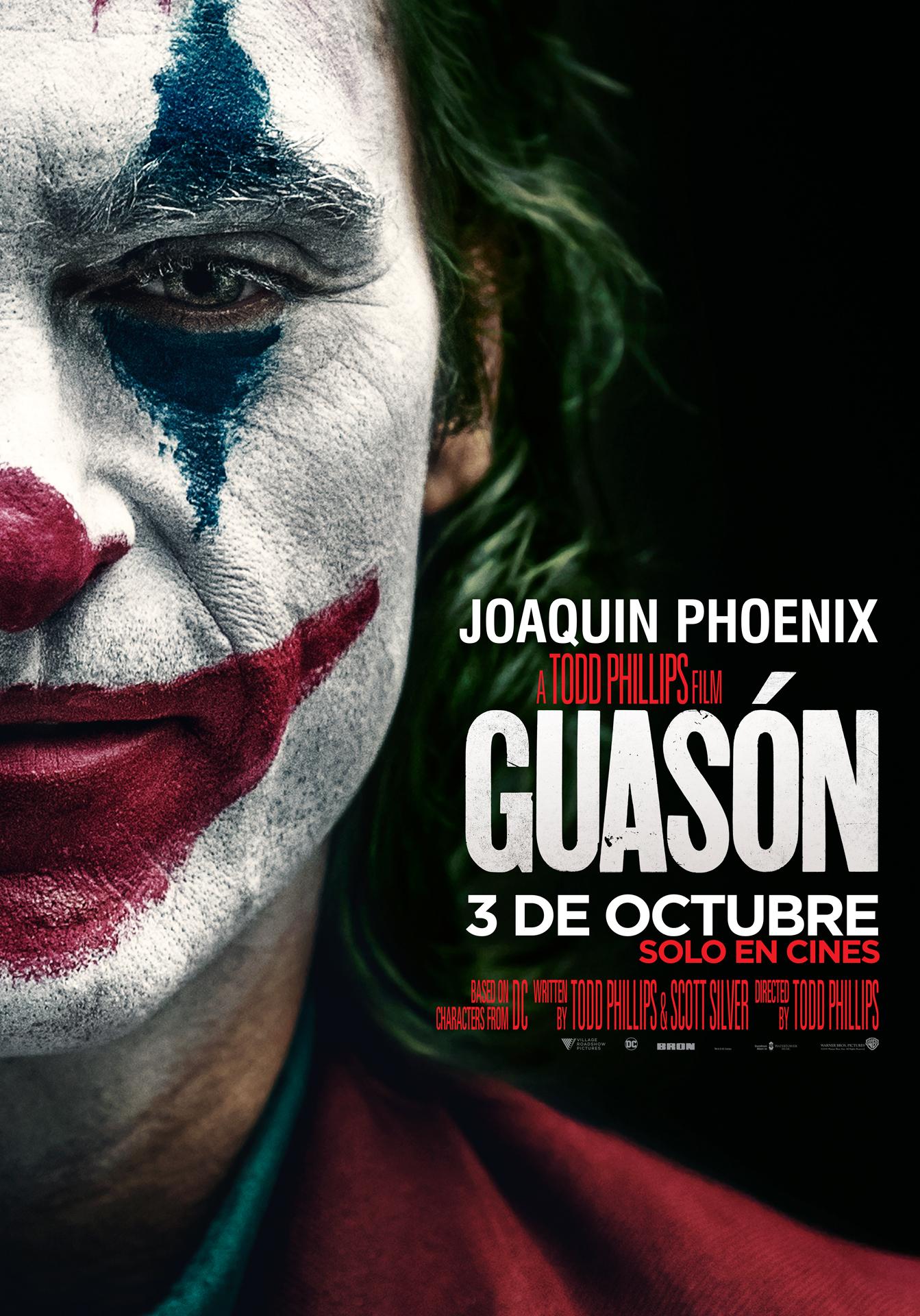 Photo of Estreno de 'Guasón' en los cines de Panamá este 03 de octubre