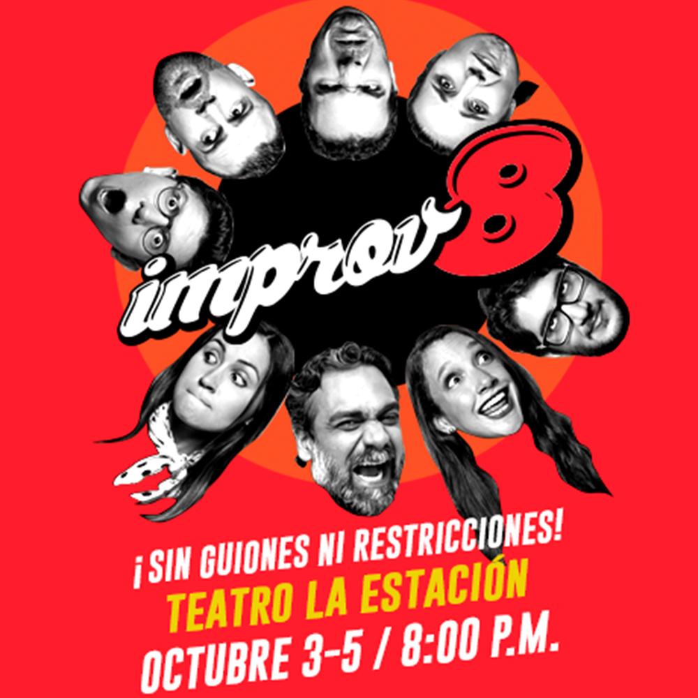 Photo of Teatro la Estación presenta el espectáculo de Improvisación Teatral 'Improv8'