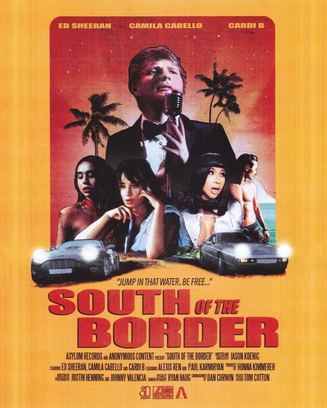 Photo of Ed Sheeran, Camila Cabello y Cardi B lanza el videoclip de 'South of the border'