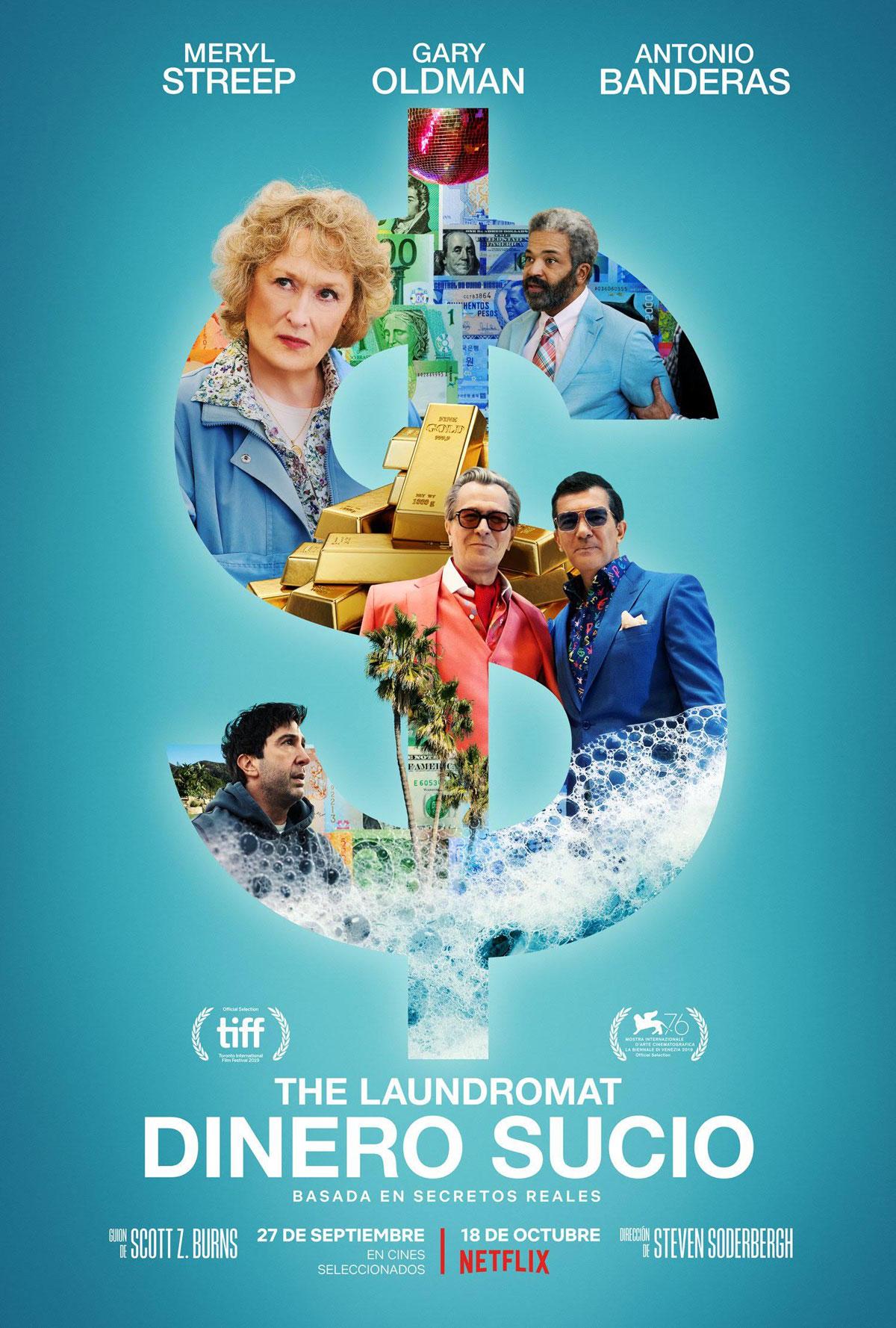 Photo of 'The Laundromat: dinero sucio' una historia basada en hechos reales