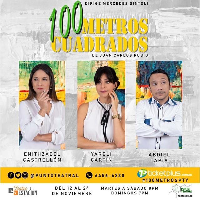 Photo of Estreno de la obra '100 Metros Cuadrados' en Teatro la Estación