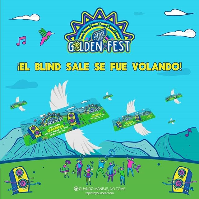 Photo of Se viene el 11 de enero del 2020 el 'Atlas Golden Fest Panamá'