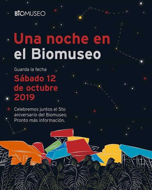 Photo of El Biomuseo los invita a celebrar su 5to. Aniversario el próximo 12 de octubre