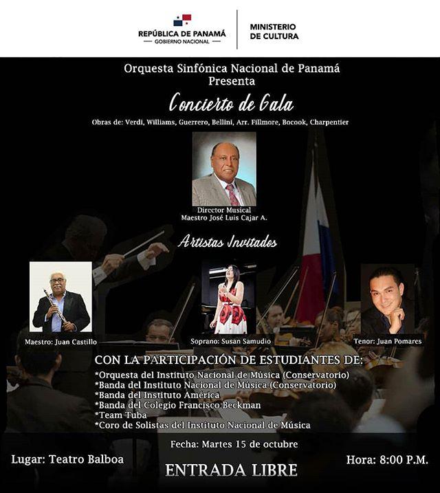 Photo of La Orquesta Sinfónica Nacional de Panamá presenta 'Concierto de Gala'