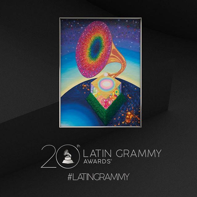 Photo of Alberto Lago es el artista oficial de la 20a Entrega del Latin GRAMMY