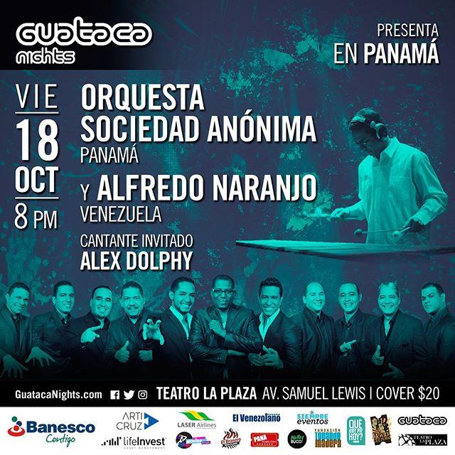 Photo of Guataca Nights presenta en Panamá al vibrafonista Alfredo Naranjo y La Orquesta Sociedad Anónima