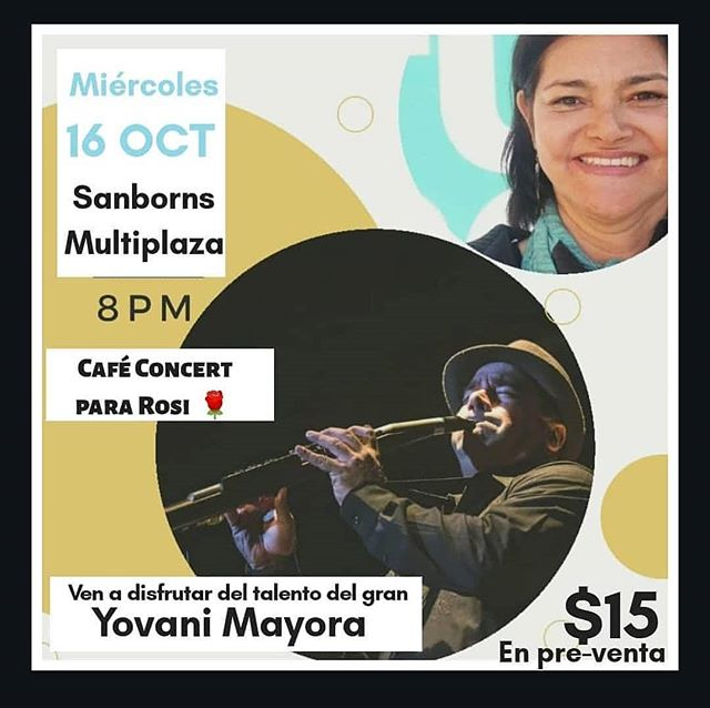 Photo of Concierto intimo de Yovani Mayora en «Café Concert para Rosy»