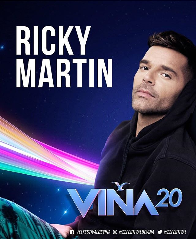 Photo of ¡Confirmado! Ricky Martin estará en el Festival de Viña del Mar 2020