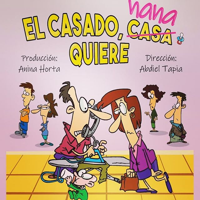 Photo of Gran Estreno de «El Casado Nana Quiere» en Teatro Aba
