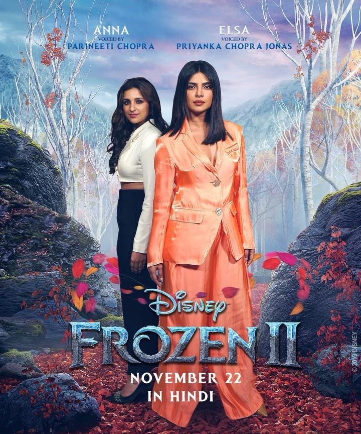 Photo of Priyanka Chopra será la voz de Elsa en la versión india de 'Frozen 2'